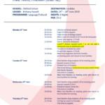 thumbnail of Cordoba 2019; Final Travel Itinerary Template