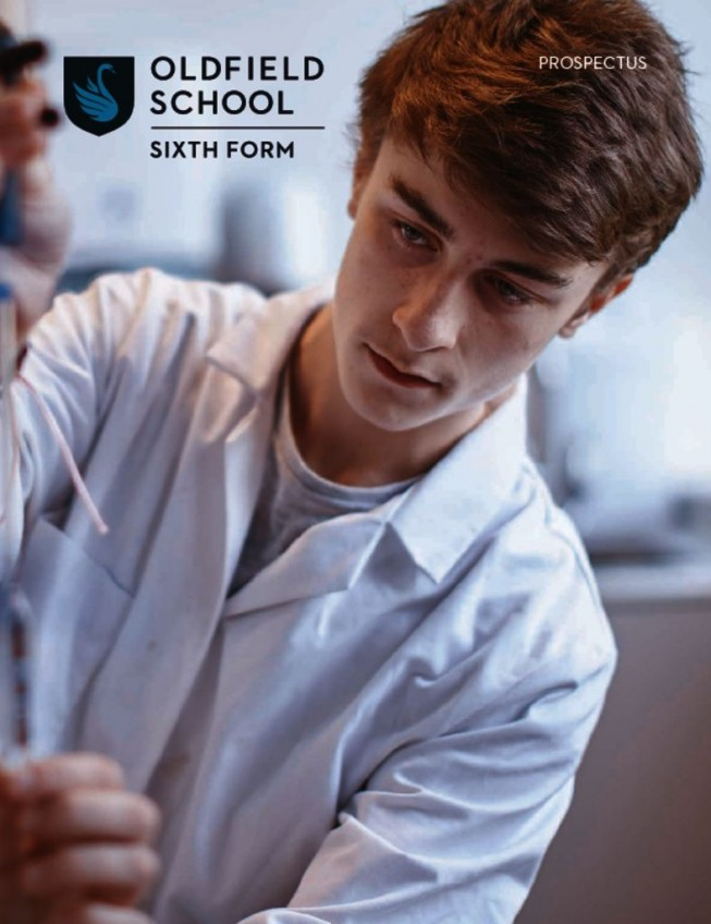 thumbnail of Oldfield School Sixth Form Prospectus 2021 online